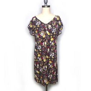 Boden Floral Shift Dress sz 10